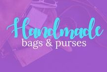 All about DIY Handmade bags and purses. / DIY Handmade bags and purses. Tips, tricks and tutorials for making the perfect handbag.