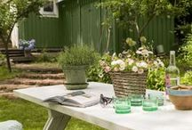 Garden inspiration / Paint your garden!