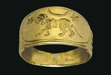 Ancient Roman Rings / Rings dating from the days of Imperial Rome into the so-called Dark Ages.  / by Cathy Raymond