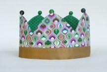 Coronas cumpleañeras / En la variedad está el gusto!