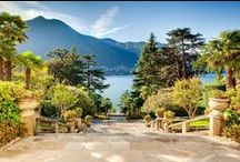 Lake Como Luxury Villas Selection / Set in northern Italy, north of Milan (and only 90 min drive from its airports), surrounded by mountains, Lake Como is famous for its vineyards, historic towns, fantastic food and restaurants, which makes it a fun relaxing holiday destination.  Home to some of our most sought after Villas, Lake Como will seduce you with its blue waters and breathtaking scenery.