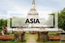 Asia Travel / Travel guides and inspiration for Asia. Including culture, history, food and tourist tips