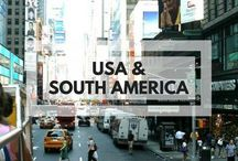 USA & South America / Travel guides and inspiration for USA & South America. Including culture, history, food and tourist tips