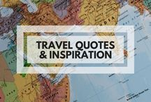 Travel Quotes & Inspiration / Inspiring travel & wanderlust quotes