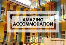 Amazing Accommodation / A board full of beautiful places to stay around the world. Accommodation for the budget traveller to the luxury traveller, including hotels, hostels and Airbnb help!