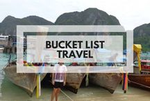 Bucket List Travel / Pinning places I want to go, thing I want to do and food I want to eat!