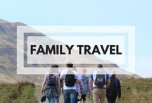 Family Travel / Pinning destination guides, tips and hacks on how to travel with a family, whether just #pttravel of long-term