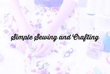 Simple Sewing and Crafting / This is a group board devoted to simple sewing and crafting projects for everyone. If you would like to join this group follow the board and email me at Diana@sewverycrafty.com with your email address and your Pinterest handle.