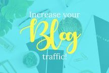 Increase your blog traffic / Learn how to increase your blogs traffic!