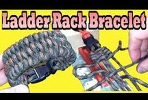 Paracordist Videos - Paracord Knot Survival & Outdoors 550 Cord Gear / #youtube #paracord #survival #prepper #survivalist #diy #howto / by The Paracordist