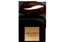 """Ambre Soie (Armani Prive) / """"This was something I had dreamed about; a beautiful scent, pure and rich which would evoke sensuality and mystery."""" Giorgio Armani     Amber's voluptuousness and depth appealed to Giorgio Armani. He re-interpreted this rare olfactive essence using the light of wood and eastern spices."""