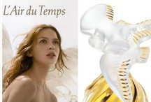 L' Air du Temps (Nina Ricci) / L'Air du Temps was born in a creative and joyful spirit in 1948.  The perfect harmony of an enchanting elixir, the symbol of femininity and eternal youth. The emblematic values of L'Air du Temps remain universal: Peace, Freedom & Love. A creation of great passion by Nina Ricci's son, Robert and master perfumer Fabrice Fabron.