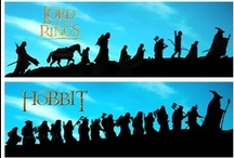 Lord of the Rings / My One Board to Rule them All, dedicated to my favorite movies in the world.  I love both the movies and the books.  / by Amy Kirk