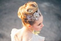 Hair inspiration / Different hairstyles for a wedding or a photoshoot