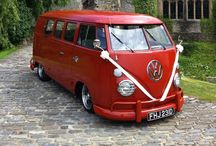 Rusty: The perfect wedding car! / Our immaculate 1966 splitscreen VW available for hire, complete with chauffeur #weddingcar  For more details, pictures and glowing testimonials, please visit our website chicncheerful.co.uk or our Facebook page Facebook.com/chicncheerful