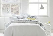 White Spaces / Gorgeous, cosy, clean, crisp, homely white spaces