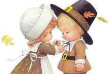 Holidays - Thanksgiving - Vintage