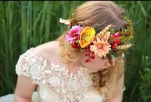 My flower work / This is a collection of my work. You can find here flower crowns, floral headbands, hair clips, hair combs... For more visit my etsyshop at https://www.etsy.com/shop/MagaelaAccessories