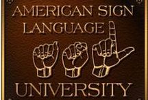 Languages - Sign Language