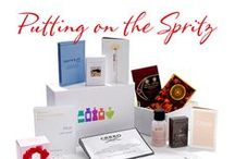 Putting on the Spritz Discovery Box / A Perfume Discovery Box when you need something to lift your mood and get you party ready