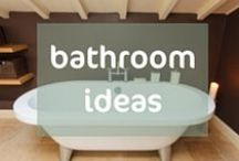 Holiday Home Bathroom Ideas / This board is where I pin beautiful bathrooms. To inspire you - either the decor scheme, the accessories, the wall colour, the bath tub- the whole lot or just an idea that you can take away and use in your holiday rental. Find more styling help here: http://bit.ly/StylingPackages