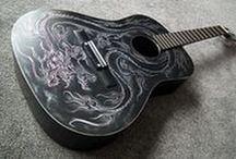 My Guitars / Guitars I have Created &/Or Painted