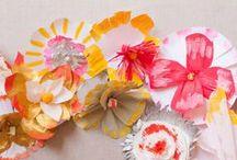 I heart Paper - Paper Flowers