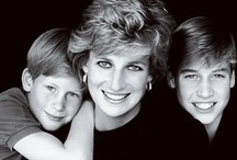 Princess Diana & Her Sons / Princess Diana and her 2 Sons, William and Harry