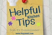 Kitchen Ideas and Tips / Lots of good tips and ideas for FOOD!