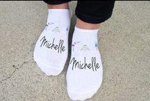 Monogram & Personalized Socks
