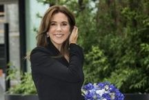 Crown Princess Mary of Denmark / A Beautiful Wife, Mother and Princess with lovely style.