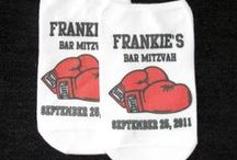 Mazel Socks!  Bat/Bar Mitzvah!