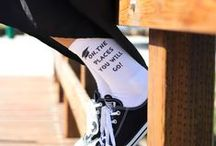 Graduation Gift Socks / A great gift idea for the graduate!  Personalized socks with the graduation year and graduate's name!