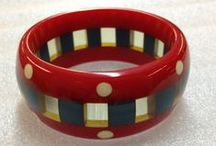 Bakelite / Wonderful examples of colorful and fun vintage pieces made from Bakelite / by Willow ~
