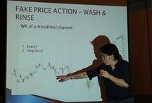 Forex trading, price action, technical analysis