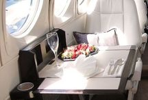 Private Jet Interiors!✈️ / by Wendy