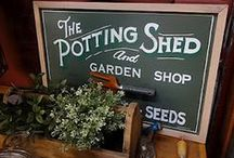Potting Sheds & Other Things Out in the Back Yard