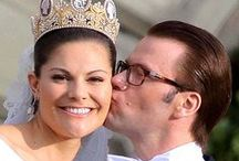 Crown Princess VICTORIA of Sweden and her family.