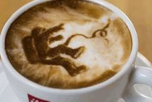 Latte Art / There is such a skill involved in making the perfect cup of coffee and that, in itself, should be considered art. These baristas have taken their artistry to a whole new level, pouring and etching life into their coffee by creating sublime and incredible #LatteArt.