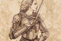 Drawing- Weapons & Armour / ideas for drawing ...