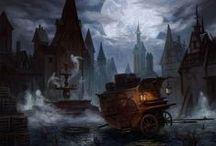 MTG Art- Innistrad / http://archive.wizards.com/Magic/tcg/article.aspx?x=mtg/tcg/innistrad/cig