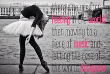 Dance quotes / by Kayley Ellis