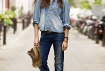 Denim / Denim is one of our favourites - stylish with attitude and the perfect basic for boho accessories.