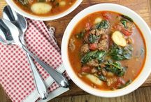 Soup & Stew Recipes / Recipes for soups, stews, chowders, etc.