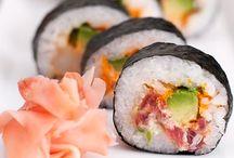 Sushi Recipes / Sushi recipes for Japanese sushi and sashimi.
