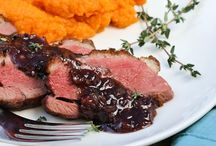 Duck Recipes / Duck recipes for meals, appetizers and other dishes made from duck.