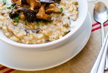 Risotto Recipes / Risotto recipes made with arborio rice. Side dish and main dish risotto recipes.