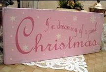 Pink Christmas / I'm dreaming of a Pink Christmas... / by Willow ~