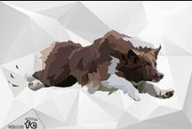 Low Poly Artwork by FRISBEESCAPE FE / The graphic department of FrisbeEscape has realized these artworks for show his power. The images represent only the sample of possible creation. Contact us for more information at info@frisbeescape.com  Stay tuned.