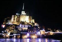Les illuminations du Mont Saint-Michel